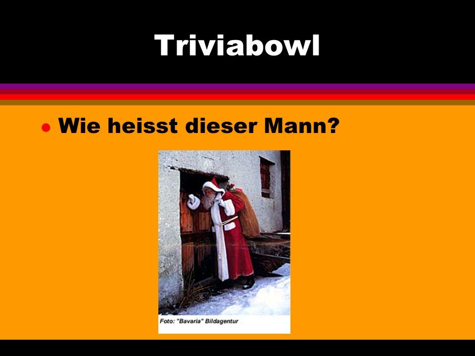 Triviabowl l Wie heisst die Hauptstadt dieses Landes?