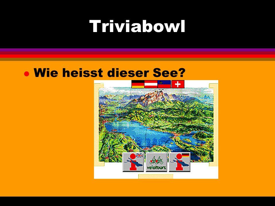 Triviabowl l Wie heisst dieses Gebaeude?