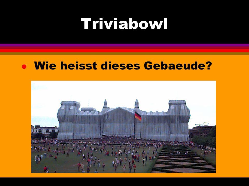 Triviabowl l Wie heisst dieses Gebaeude