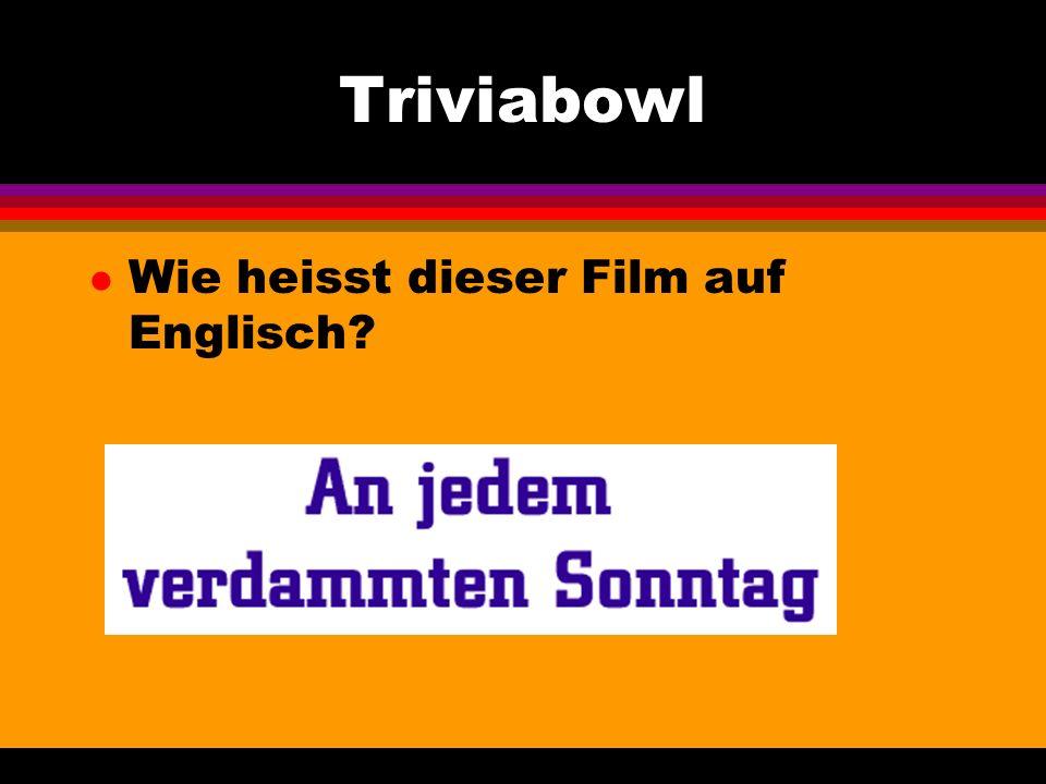 Triviabowl l Wie heisst diese Stadt? Sie liegt an der Elbe.