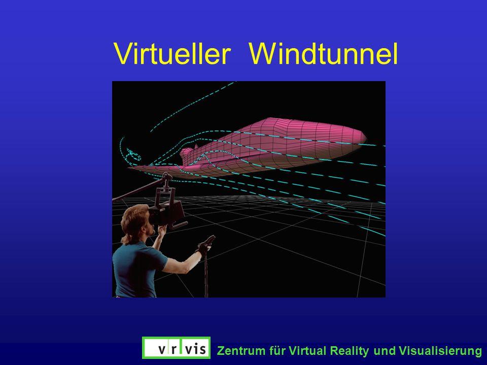 Zentrum für Virtual Reality und Visualisierung WindtunnelVirtueller