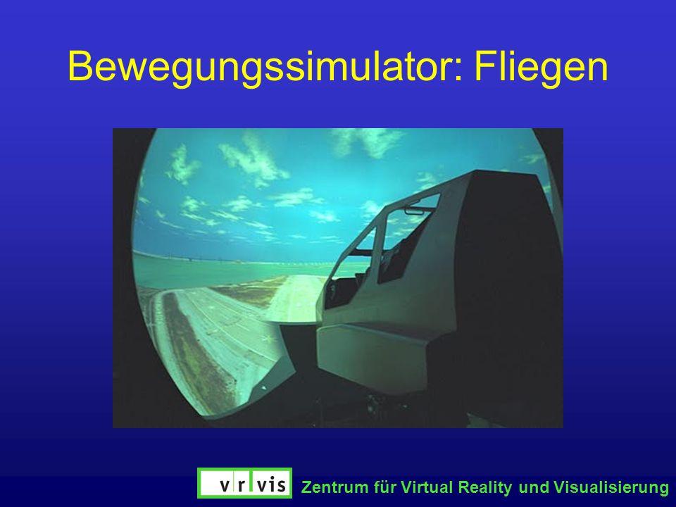 Zentrum für Virtual Reality und Visualisierung Bewegungssimulator: Fliegen