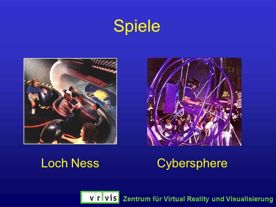 Zentrum für Virtual Reality und Visualisierung Spiele Loch NessCybersphere