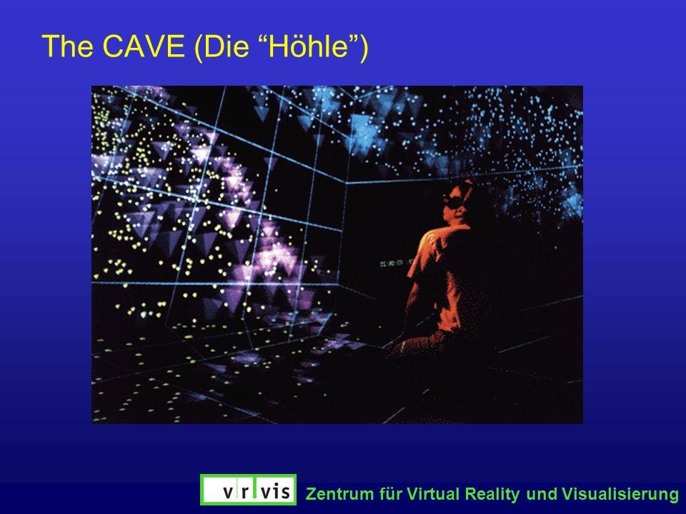 Zentrum für Virtual Reality und Visualisierung The CAVE (Die Höhle)