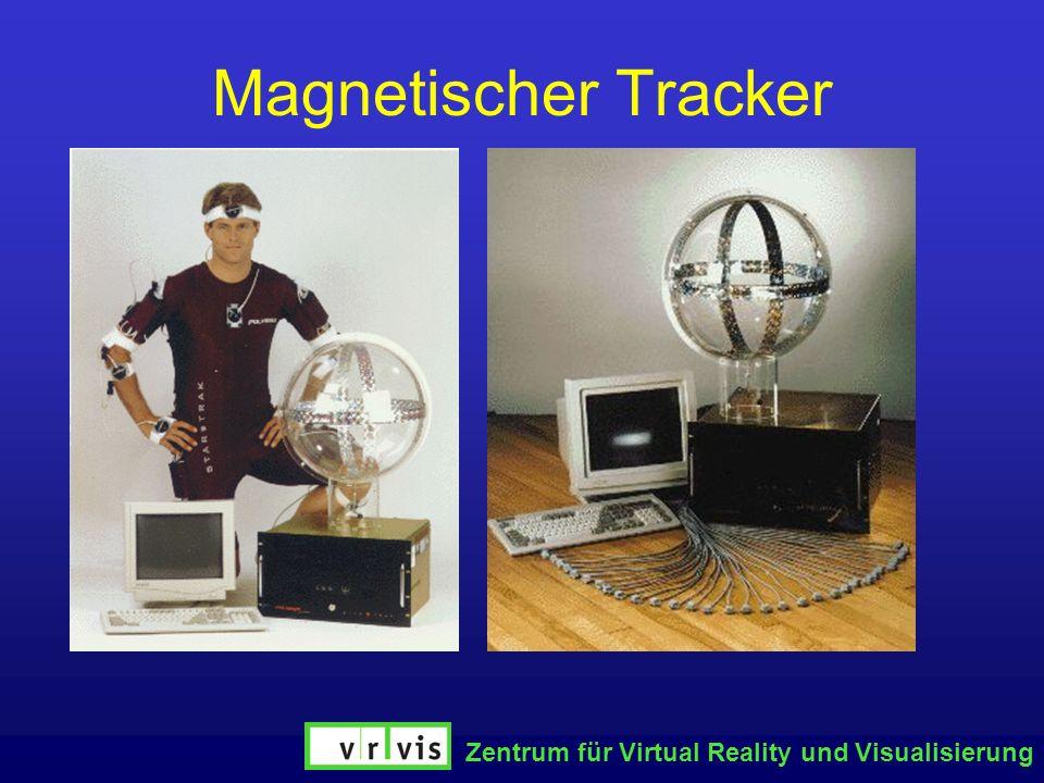 Zentrum für Virtual Reality und Visualisierung Magnetischer Tracker