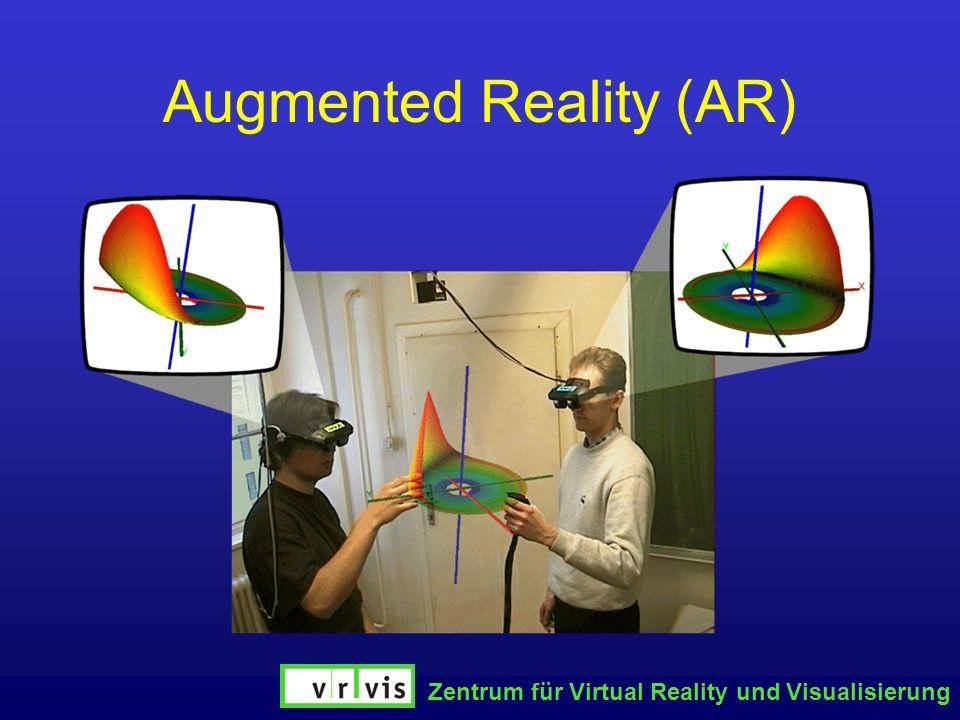 Zentrum für Virtual Reality und Visualisierung Augmented Reality (AR)