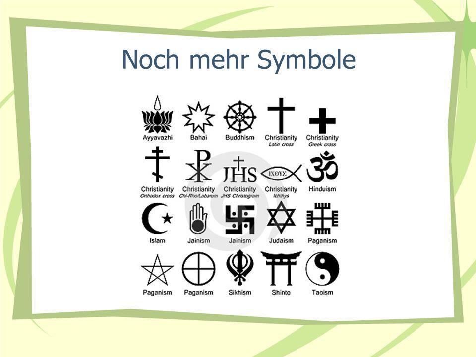 Noch mehr Symbole