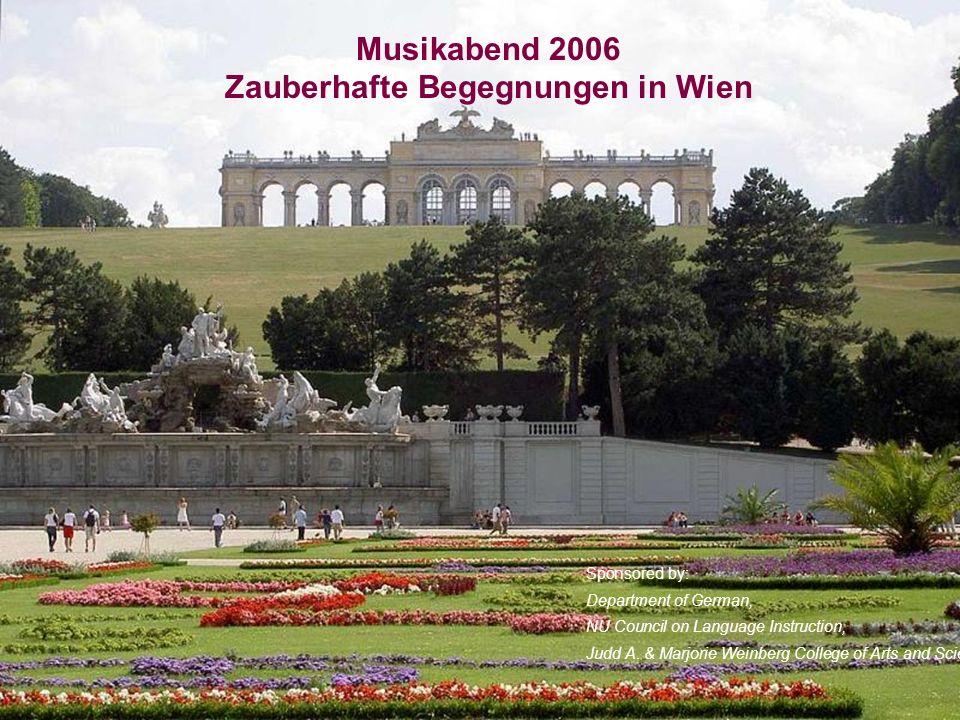 Wien- Moderne Metropole- Zentrum der Musik und Kultur