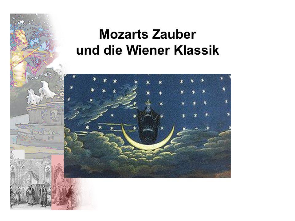 Mozarts Zauber und die Wiener Klassik