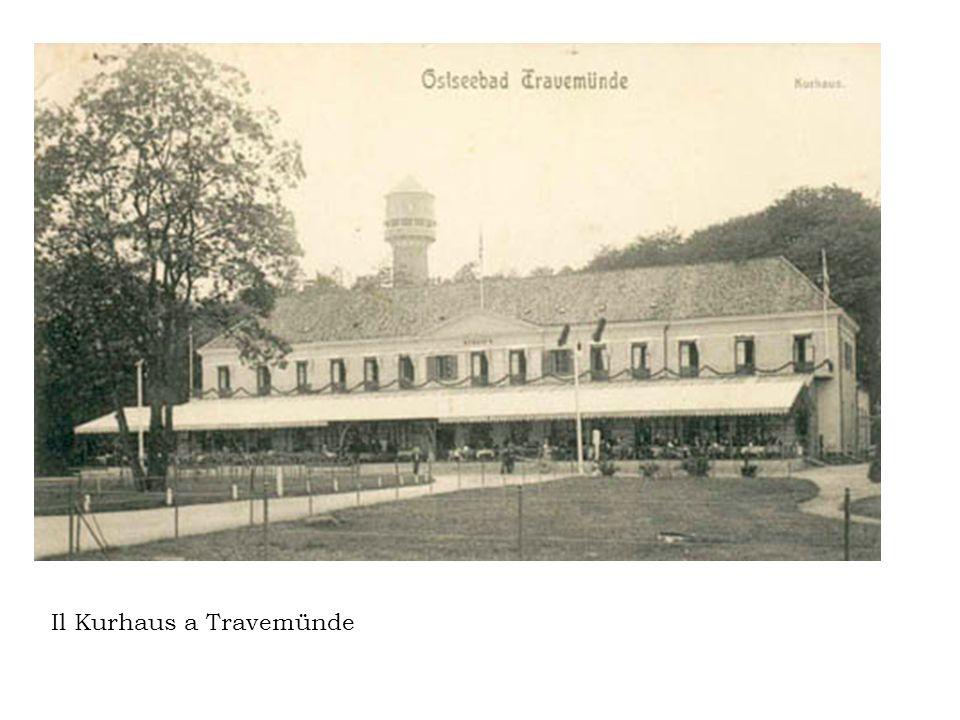 Il Kurhaus a Travemünde
