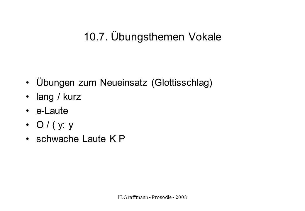 H.Graffmann - Prosodie - 2008 deutsch 10.6.