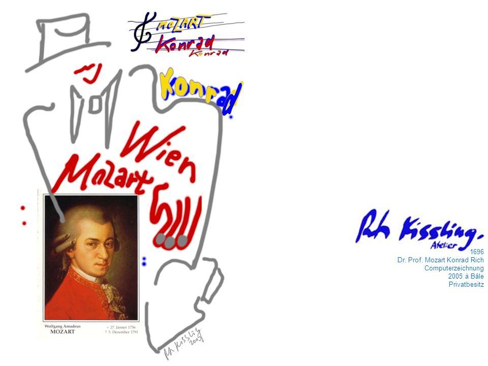 1696 Dr. Prof. Mozart Konrad Rich Computerzeichnung 2005 à Bâle Privatbesitz