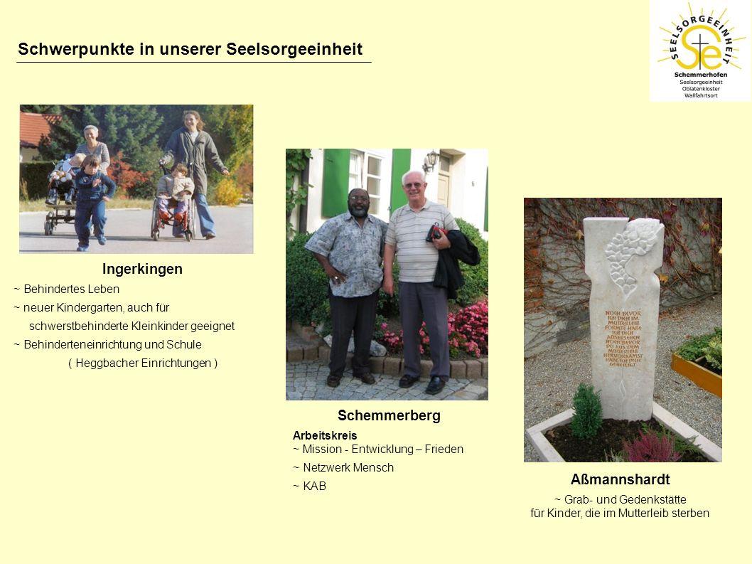 Ingerkingen ~ Behindertes Leben ~ neuer Kindergarten, auch für schwerstbehinderte Kleinkinder geeignet ~ Behinderteneinrichtung und Schule ( Heggbache