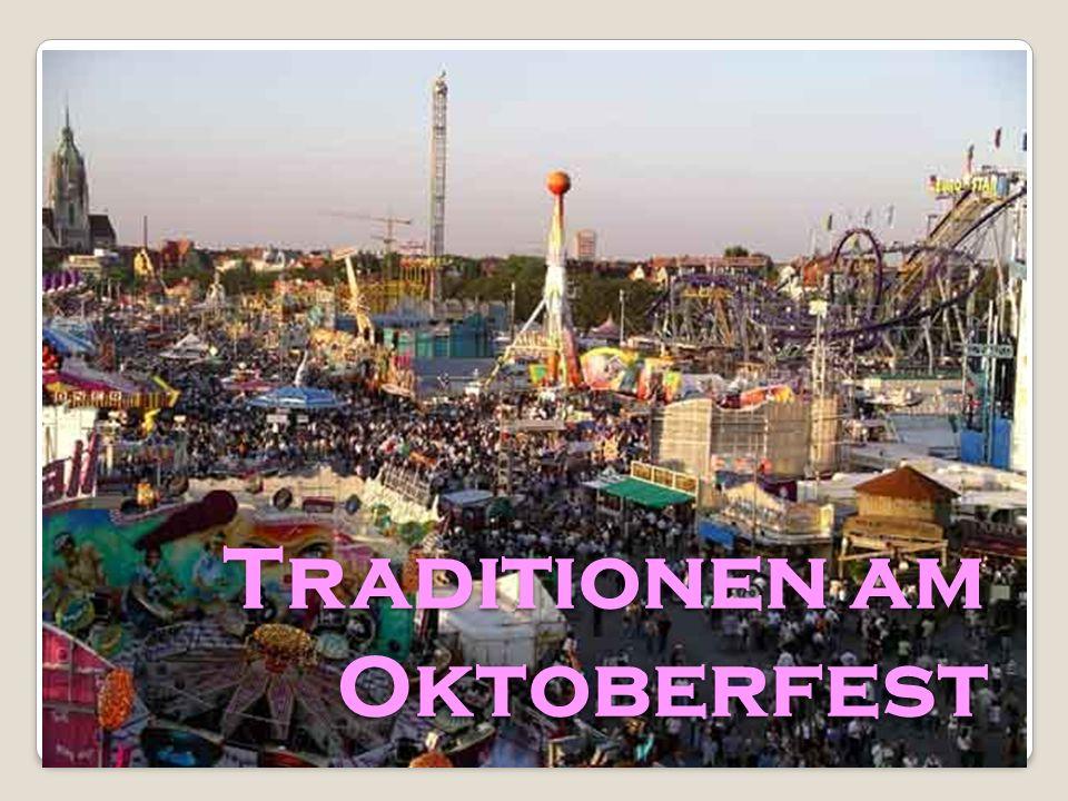 Traditionen am Oktoberfest