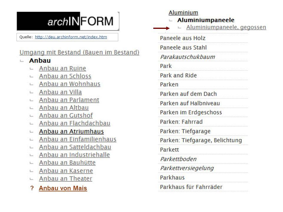 Quelle: http://deu.archinform.net/index.htmhttp://deu.archinform.net/index.htm Auszug aus archINFORM: Präkombination I ? Anbau von Mais