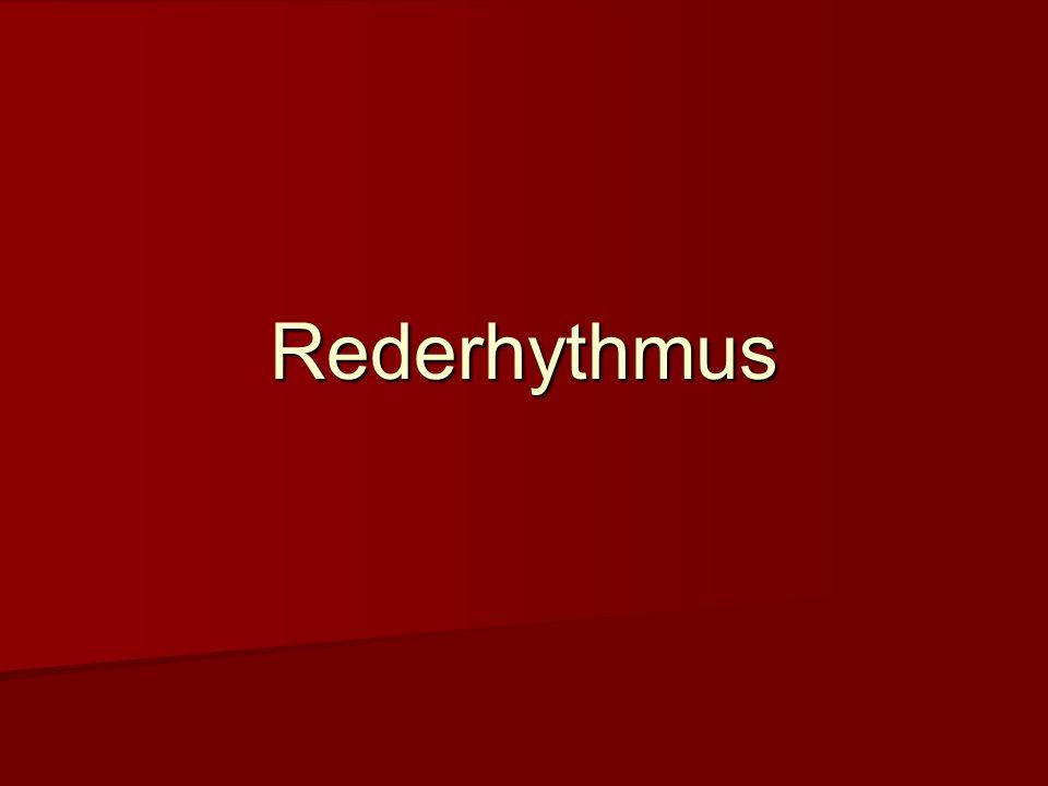 Rederhythmus