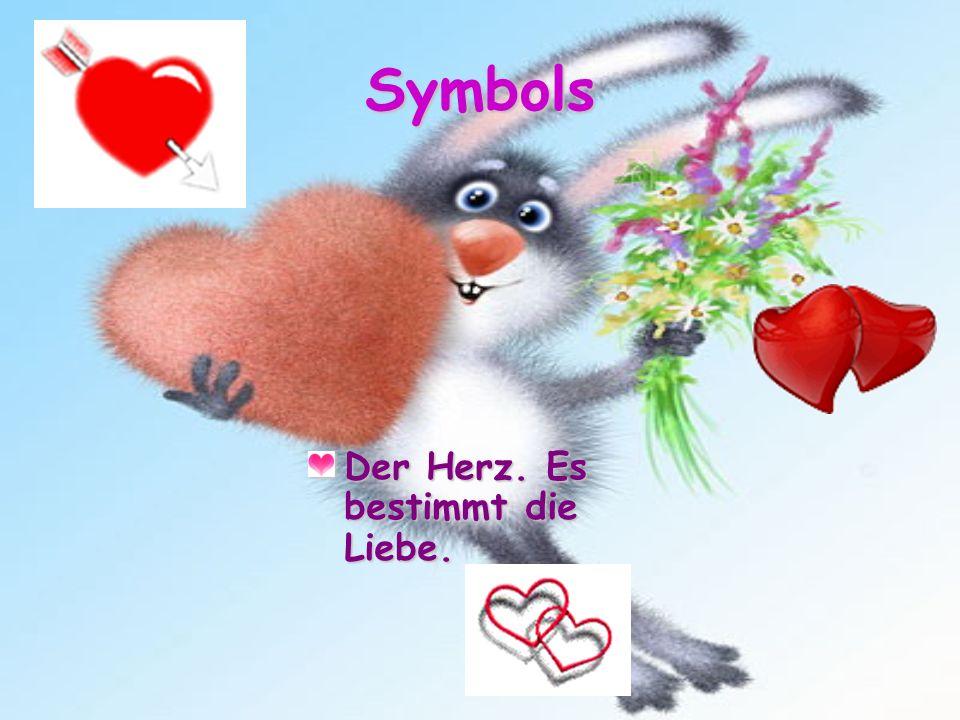 Symbols Der Herz. Es bestimmt die Liebe.