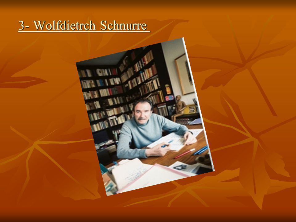 Wolfdietrch Schnurre 3-