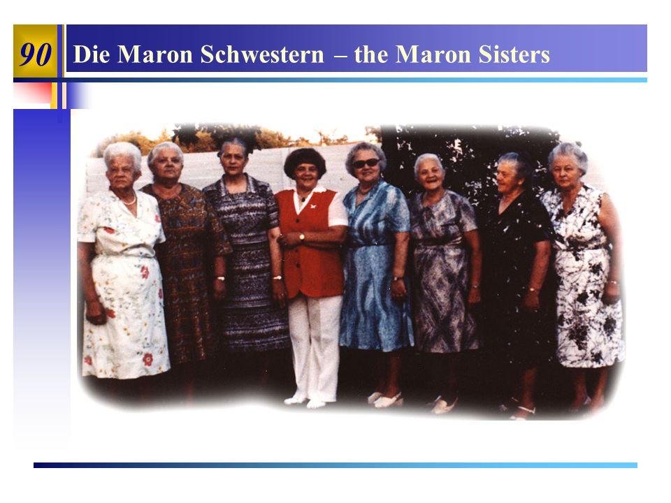 90 Die Maron Schwestern – the Maron Sisters