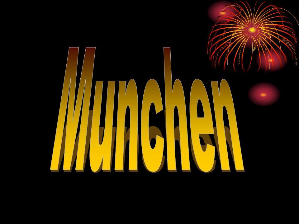 Uber Munchen Als Stadt der Million, München ist eine Stadt in der Nähe der südlichen Alpen.