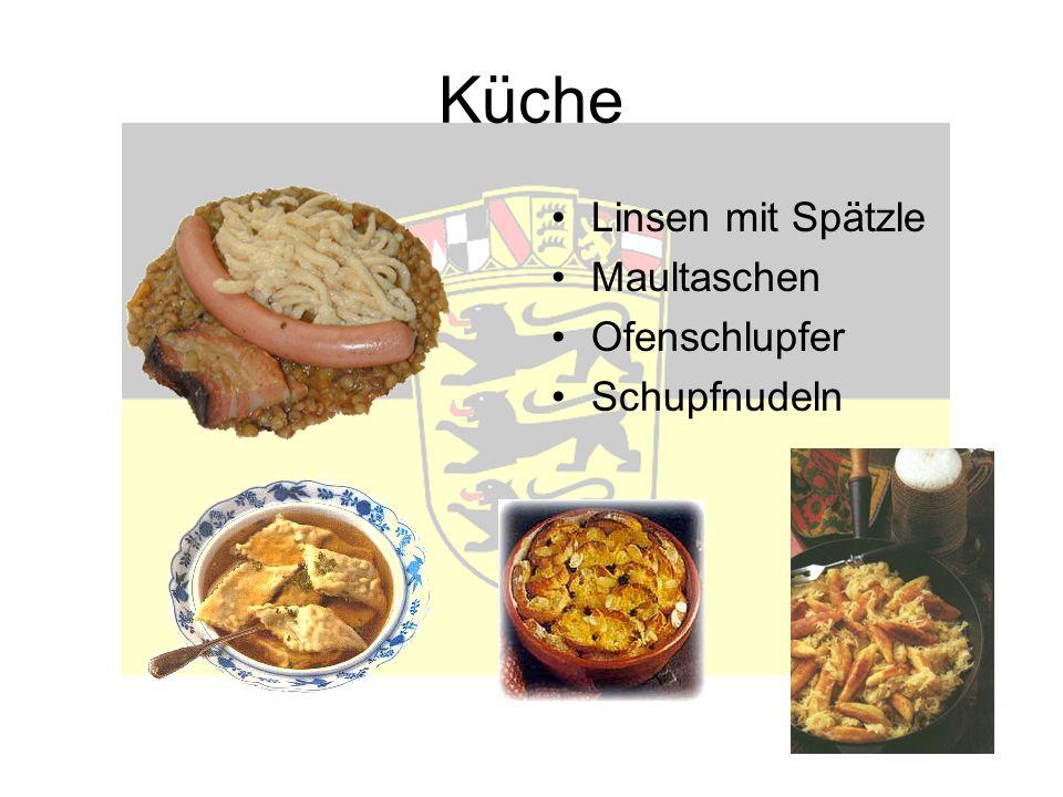 Küche Linsen mit Spätzle Maultaschen Ofenschlupfer Schupfnudeln