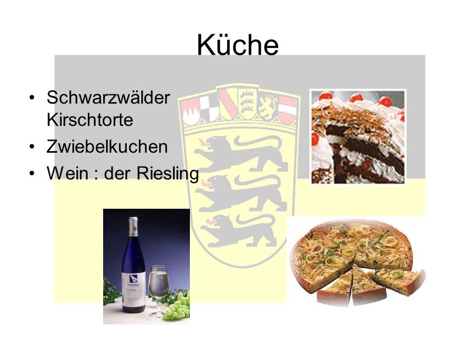 Küche Schwarzwälder Kirschtorte Zwiebelkuchen Wein : der Riesling