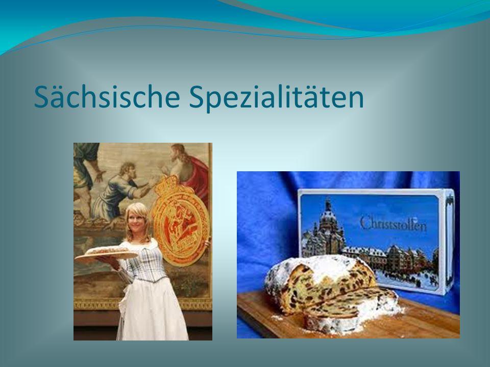 Sächsische Spezialitäten