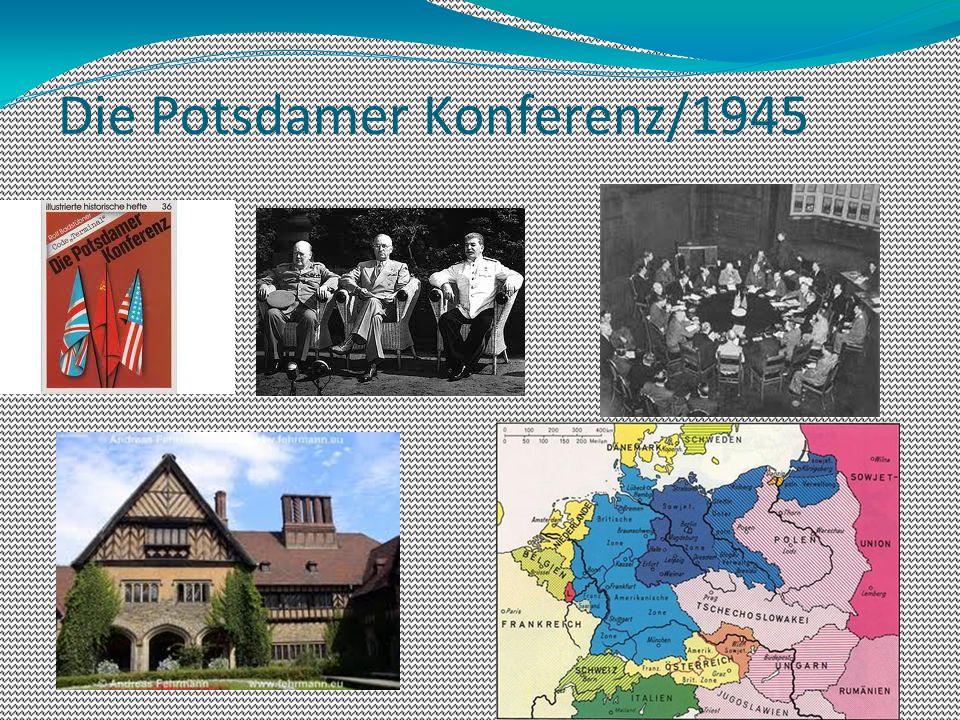 Die Potsdamer Konferenz/1945