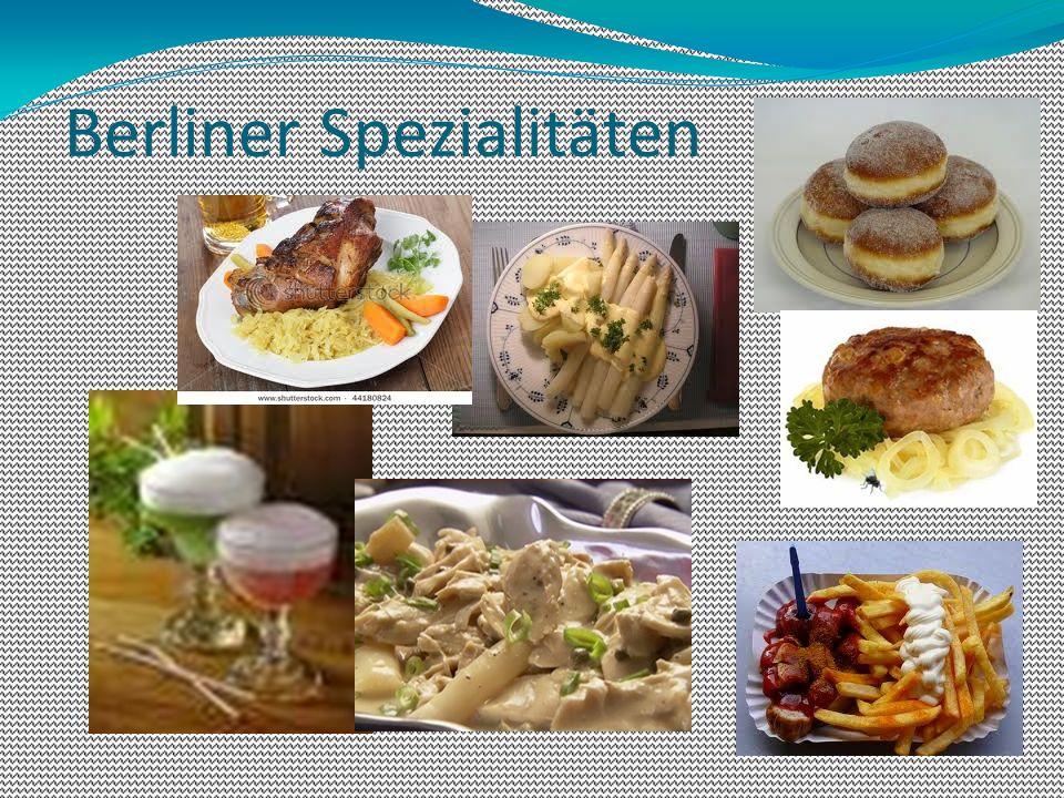 Berliner Spezialitäten