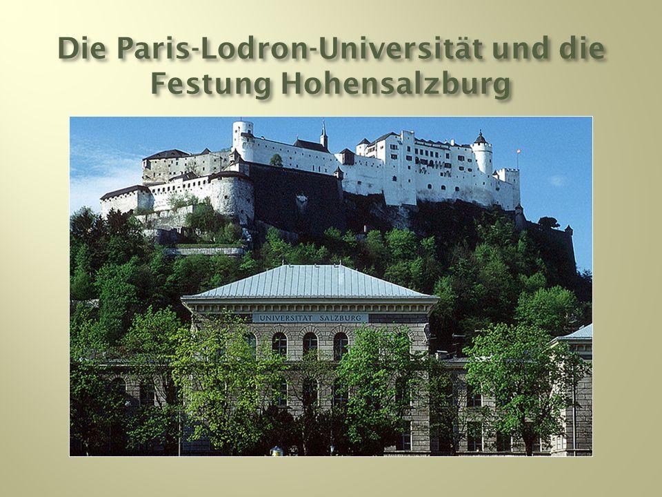 Die Paris-Lodron-Universität und die Festung Hohensalzburg