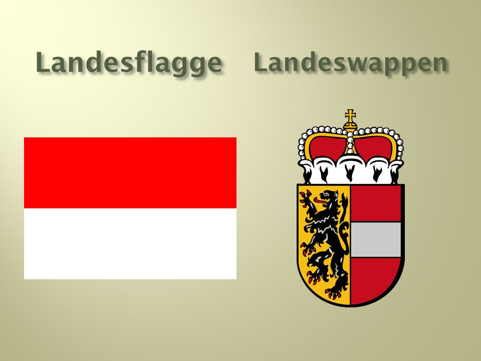 LandesflaggeLandeswappen