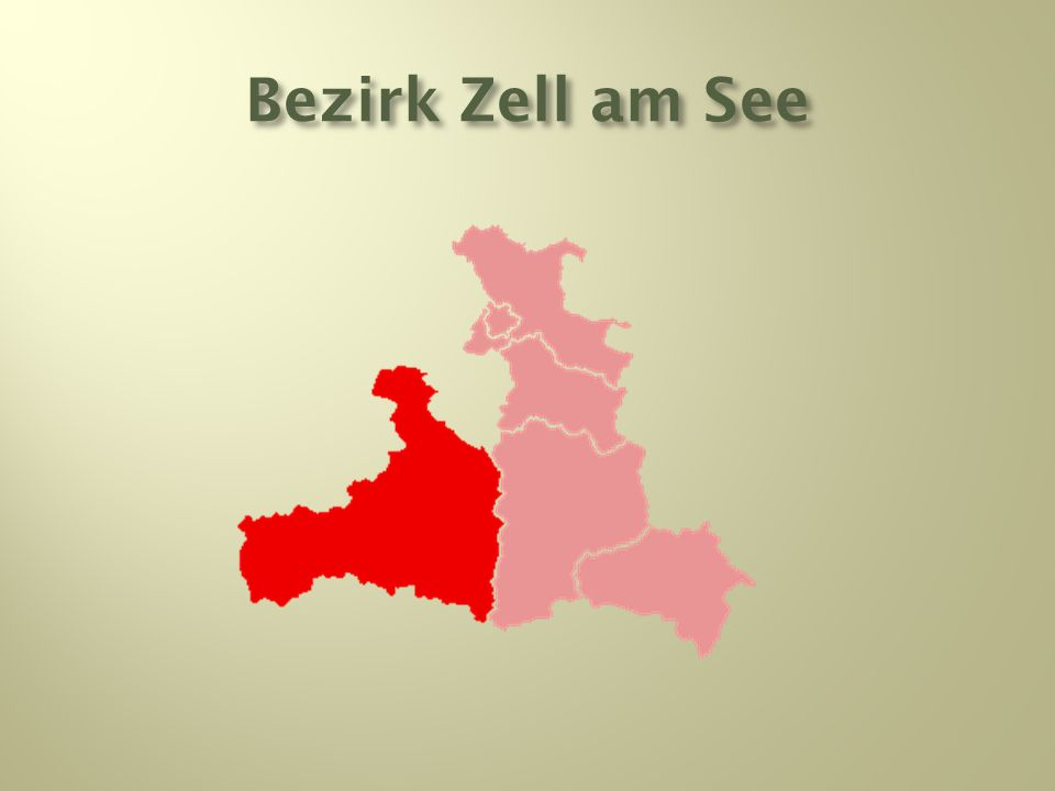Bezirk Zell am See