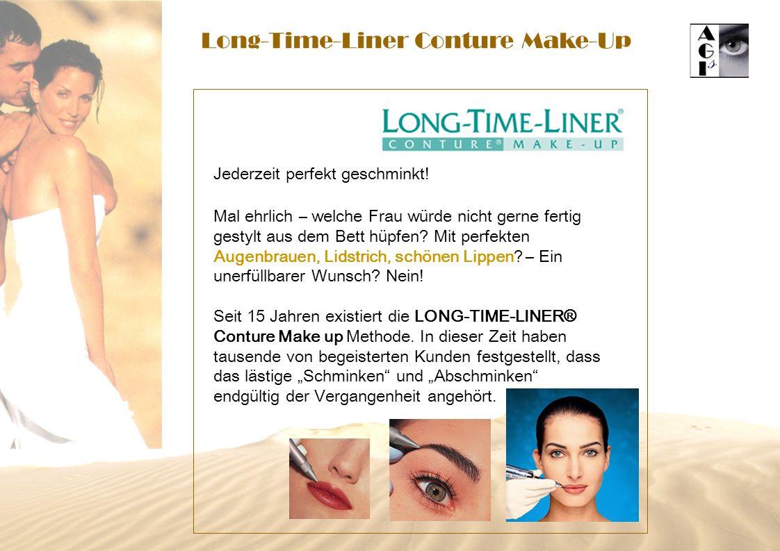 Long-Time-Liner Conture Make-Up Jederzeit perfekt geschminkt! Mal ehrlich – welche Frau würde nicht gerne fertig gestylt aus dem Bett hüpfen? Mit perf