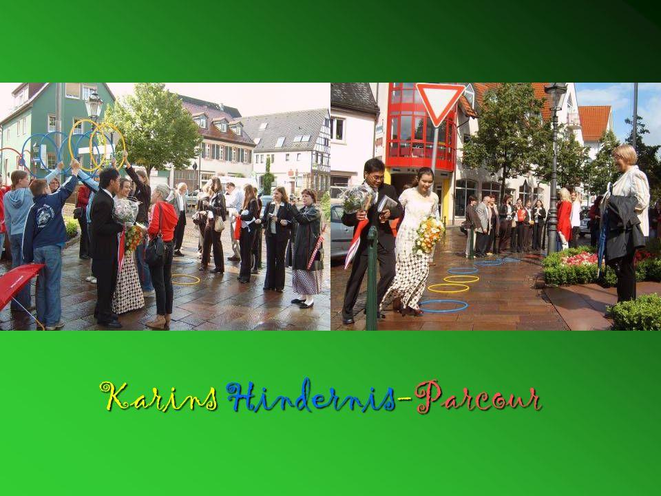Karins Hindernis-Parcour