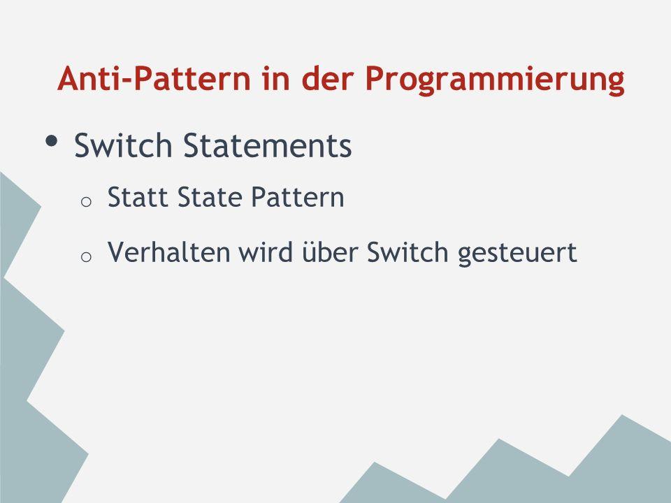 Reservierte Wörter o Datenbanken (MySQL -> Oracle) Anti-Pattern in der Programmierung