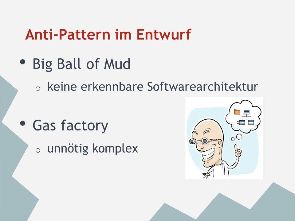 Sumo-Hochzeit o stark abhängig o unflexibel o PL/SQL Anti-Pattern im Entwurf