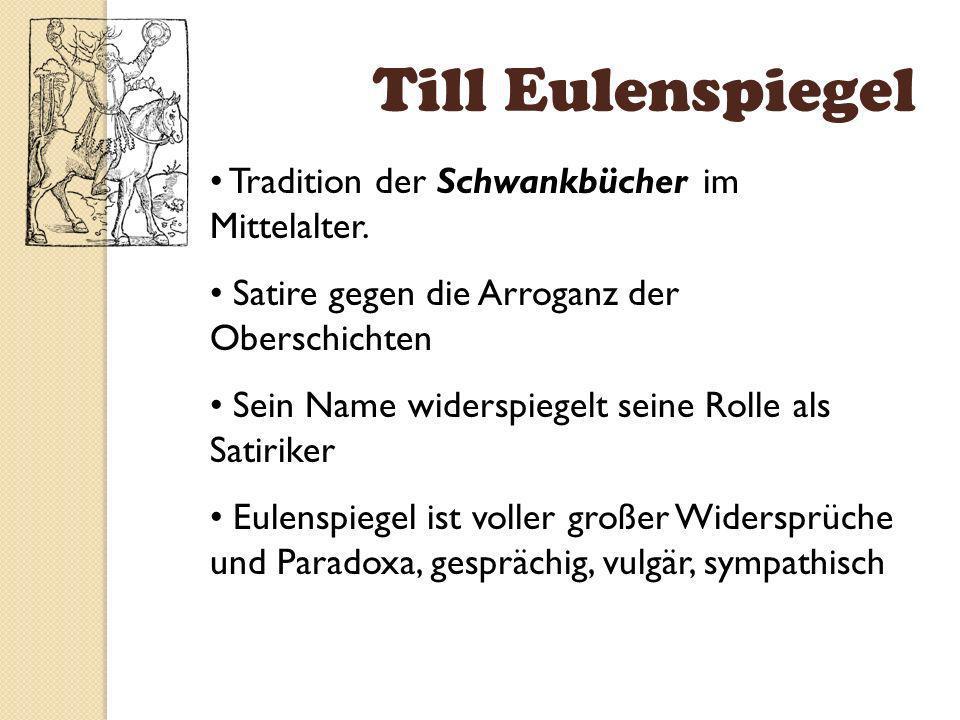 Till Eulenspiegel Woodcut by Hans Balding Grien in the 1515 edition of Eulenspiegels adventures. Der Historische Eulenspiegel lebte ca. 1300-1350. Mün