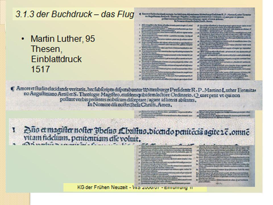 Lebenslauf von Martin Luther 10. Nov. 1483 geboren in Eisleben 1505 Gewittererlebnis bei Stotternheim; danach Eintritt ins Augustinerkloster Erfurt 15