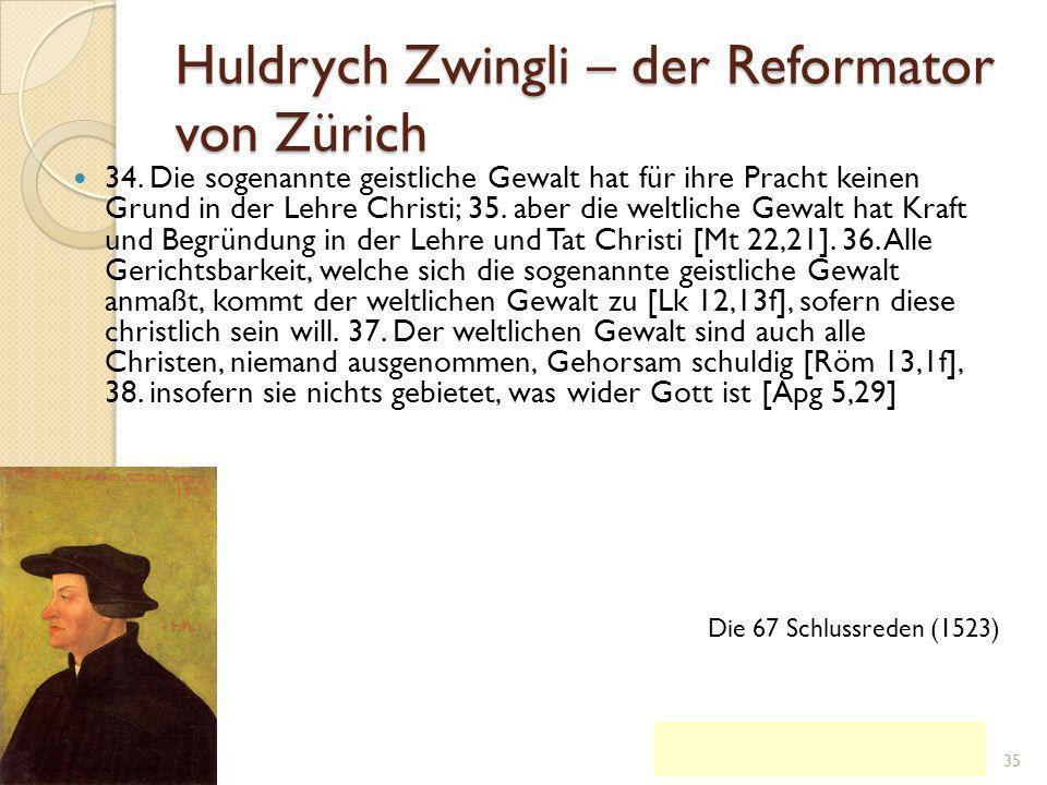 Ulrich Zwingli 1.Jan.