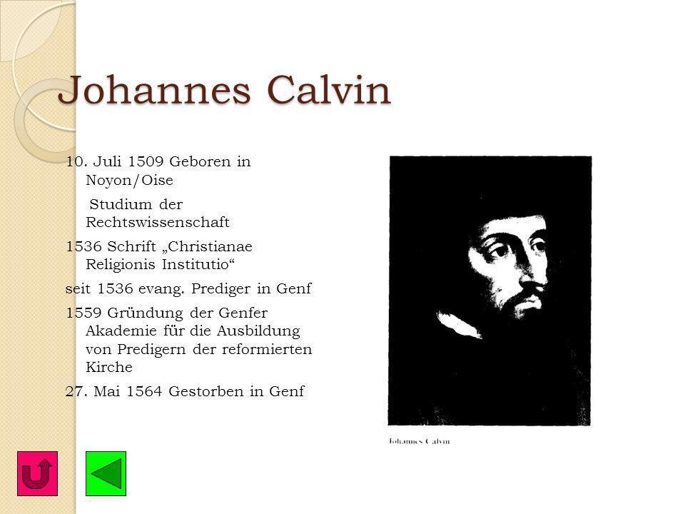 Huldrych Zwingli – der Reformator von Zürich 34. Die sogenannte geistliche Gewalt hat für ihre Pracht keinen Grund in der Lehre Christi; 35. aber die