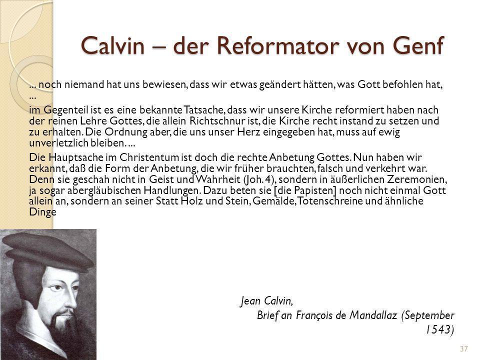 Johannes Calvin 10.