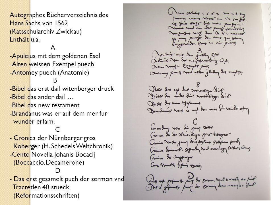 44 Andreas Herneisen malt Hans Sachs im Alter von 81 Jahren (1576) – Wolfenbüttel, HAB