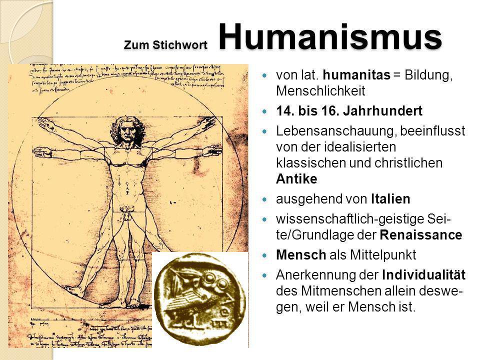 d) Vertreter Sebastian Brant Das Narrenschiff, löste Narrenliteraturflut aus Erasmus von Rotterdam bedeutendster Vertreter des Humanismus, Ständekriti