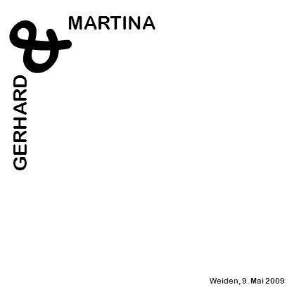 MARTINA & GERHARD Weiden, 9. Mai 2009