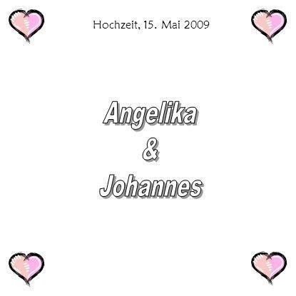 Hochzeit, 15. Mai 2009