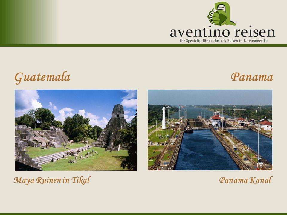 Uruguay: Karneval Guatemala Maya Ruinen in Tikal Panama Panama Kanal