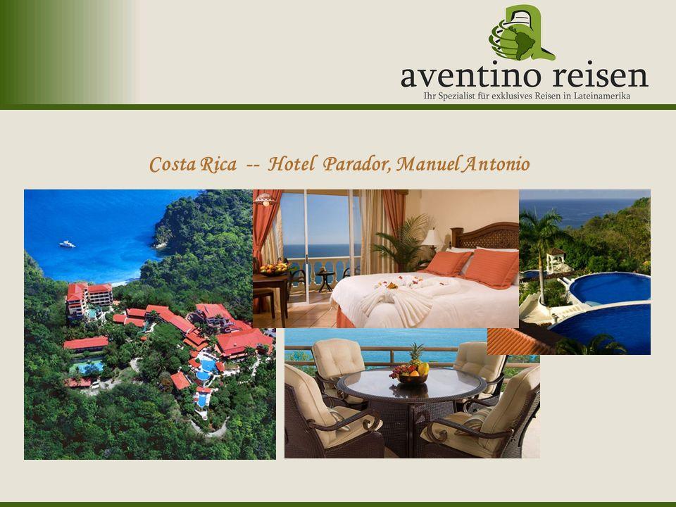 Uruguay: Karneval Costa Rica -- Hotel Parador, Manuel Antonio