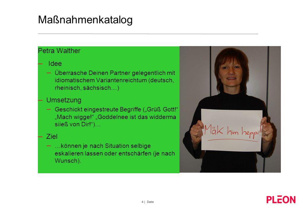 4 | Date Maßnahmenkatalog Petra Walther – Idee – Überrasche Deinen Partner gelegentlich mit idiomatischem Variantenreichtum (deutsch, rheinisch, sächs