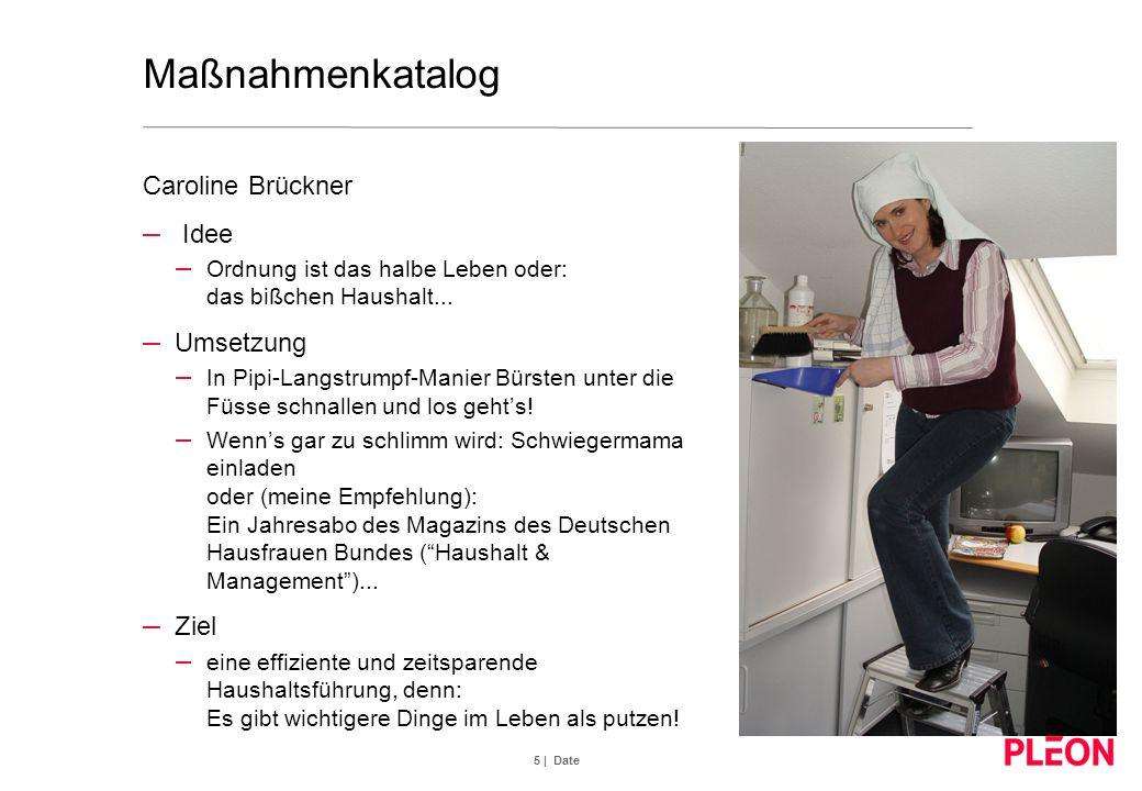5 | Date Maßnahmenkatalog Caroline Brückner – Idee – Ordnung ist das halbe Leben oder: das bißchen Haushalt... – Umsetzung – In Pipi-Langstrumpf-Manie