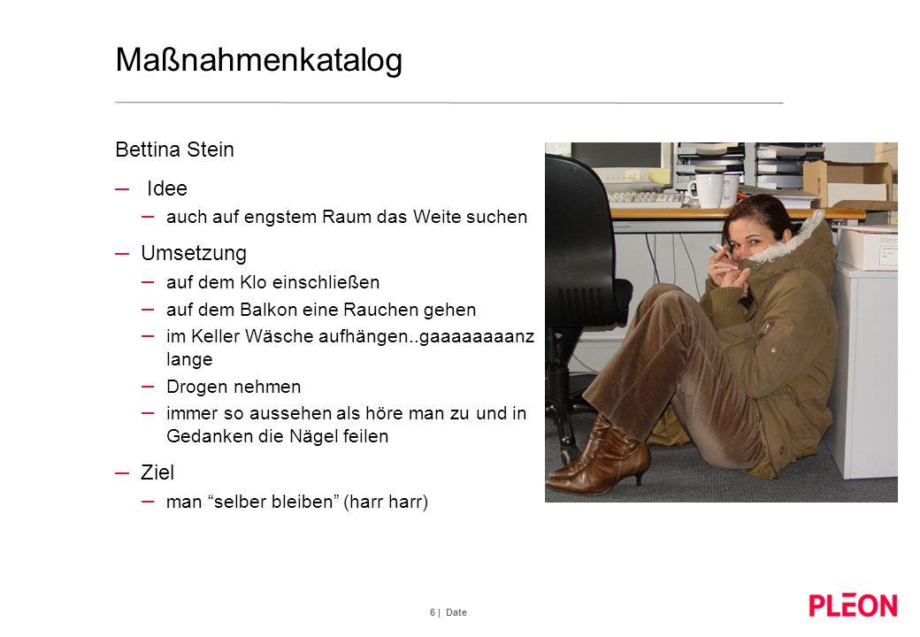 7 | Date Maßnahmenkatalog Mariele Marberg – Idee – Tränen und Bauchschmerzen - VOM LACHEN!.